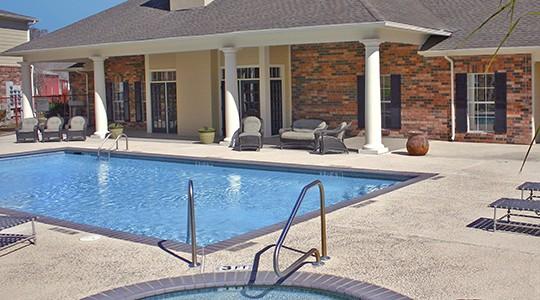 Spring Brook Apartments In Baton Rouge LA Bedroom - Springbrook apartments baton rouge