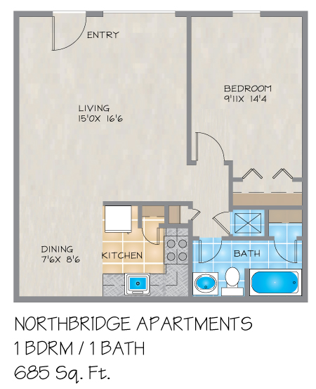 Metairie Apartments: Northbridge Apartments In Metairie, LA