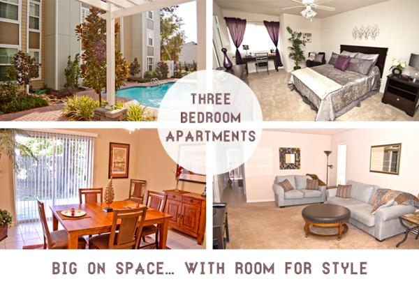 Big On Space: 3 Bedroom Apartments In Metairie